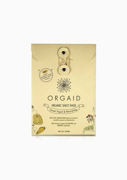 Organic Sheet Mask | Greek Yogurt & Nourishing