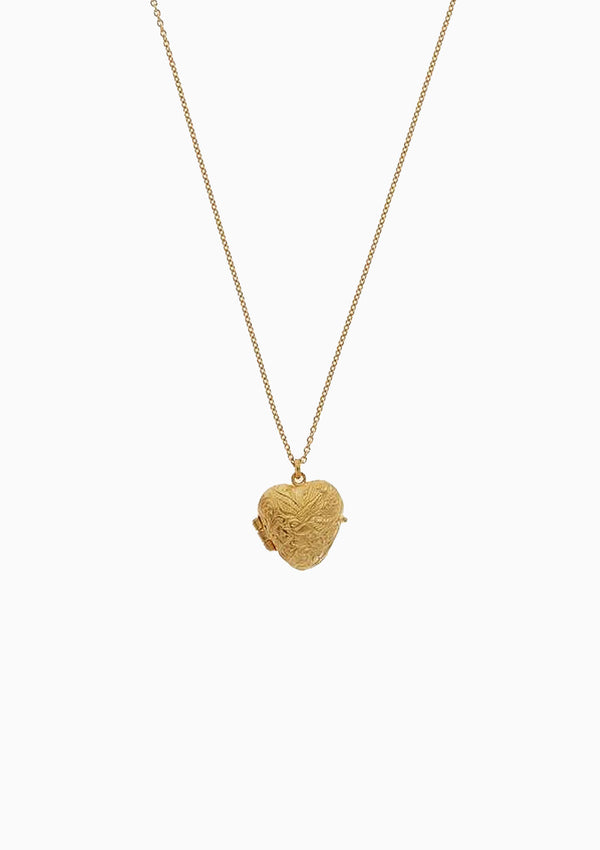 Victoriana Keepsake Heart Locket