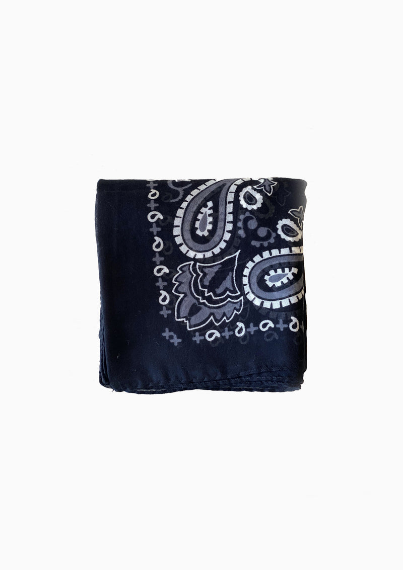 Cotton Bandana/Quadra - Black