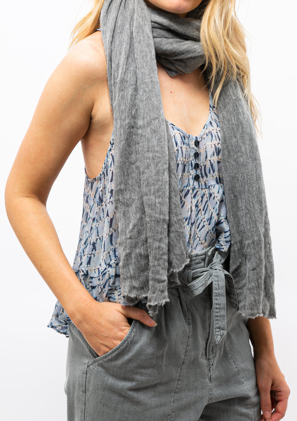 Zephyr Scarf | Light Grey