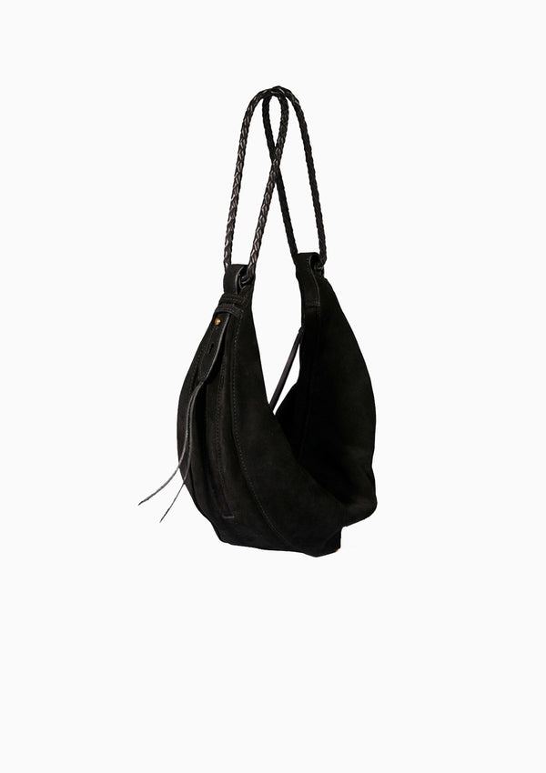 Willy Bag | Suede Noir