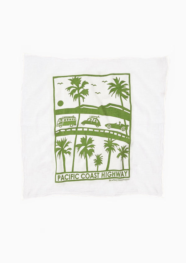 Flour Sack Dish Towel | Pacific Coast Highway