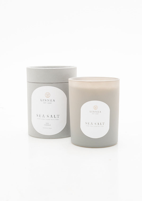 Sea Salt Double Wick Candle