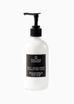 Rose + Black Pepper Body Lotion