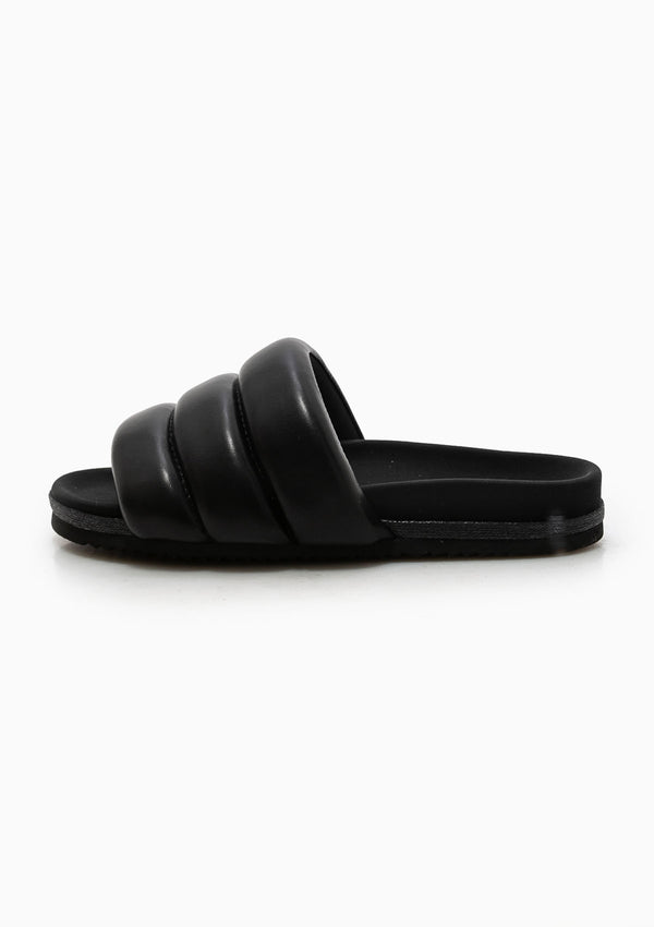 Super Puff Slider | Black