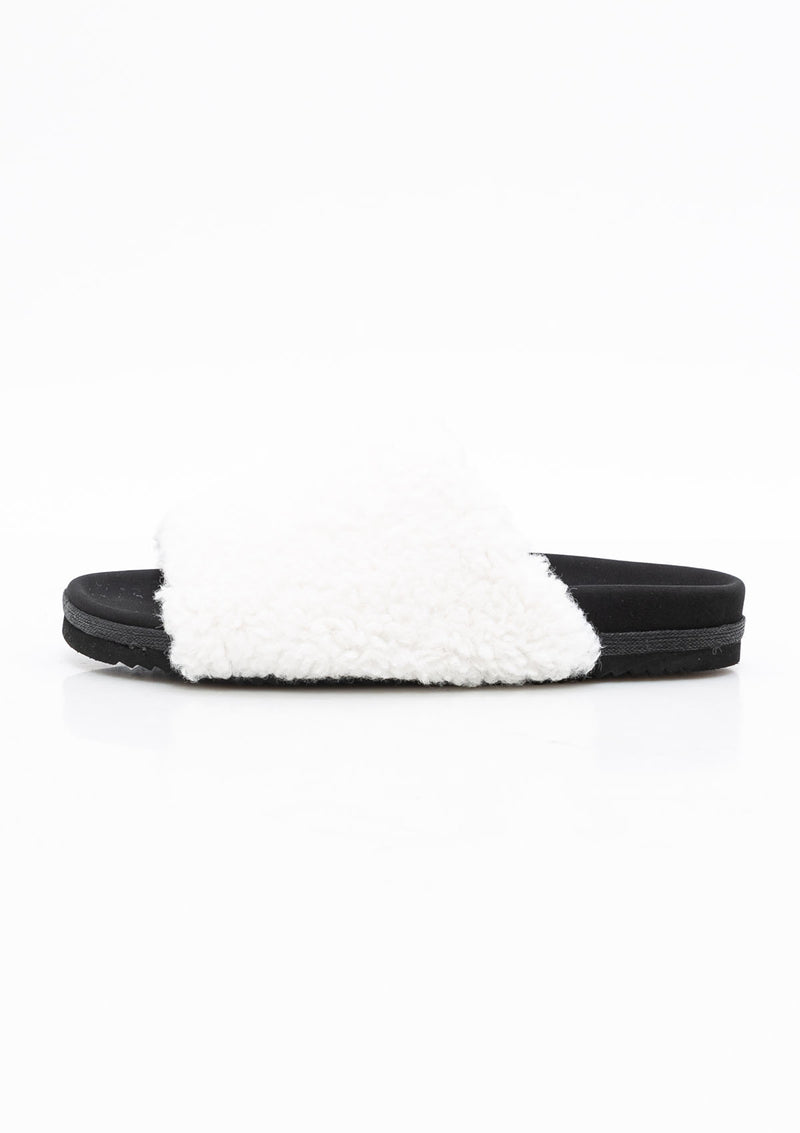Fuzzy Slider | White
