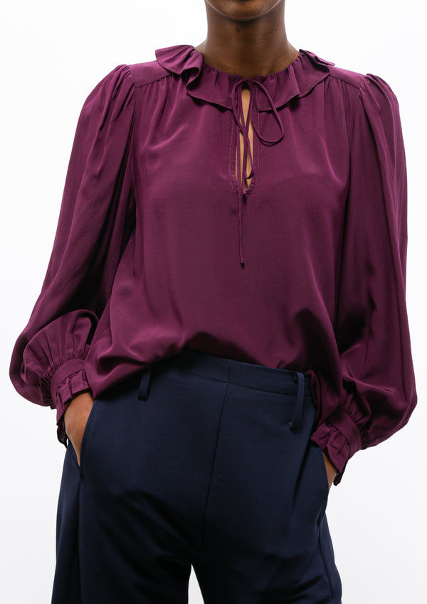 Sabrina Poet Sleeve Top