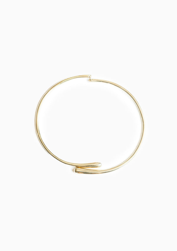 Dash Hinge Wrap Choker | Gold