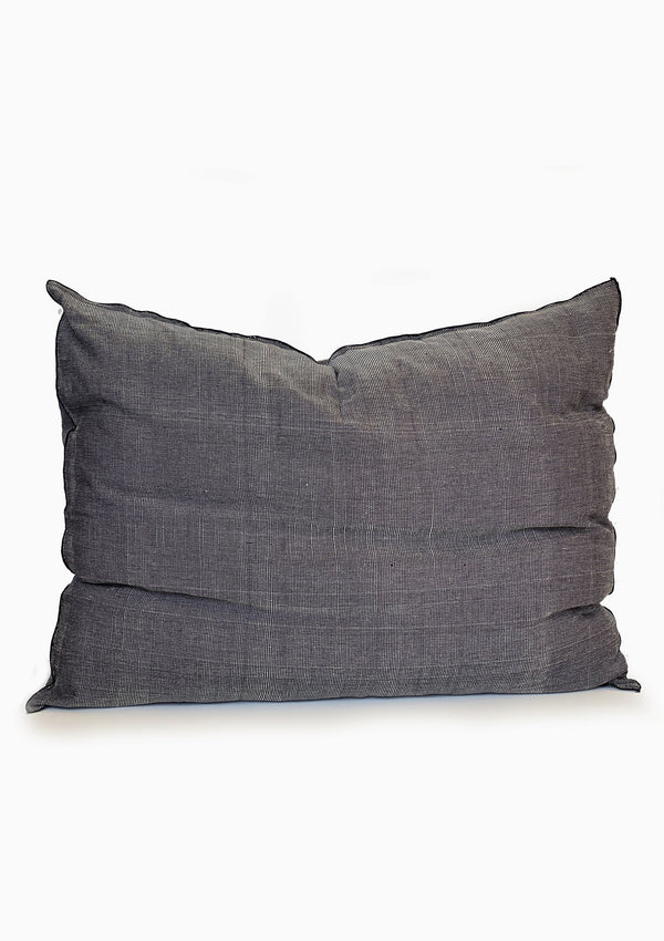"Headboard Cushion, Heather Navy, 24""x32"""