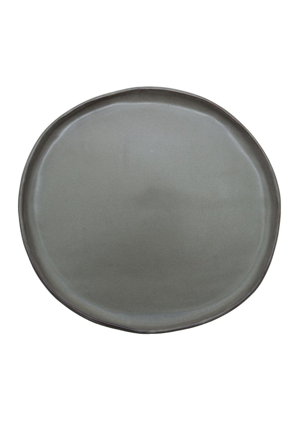 Kinfolk Dinner Plate | Gunmetal
