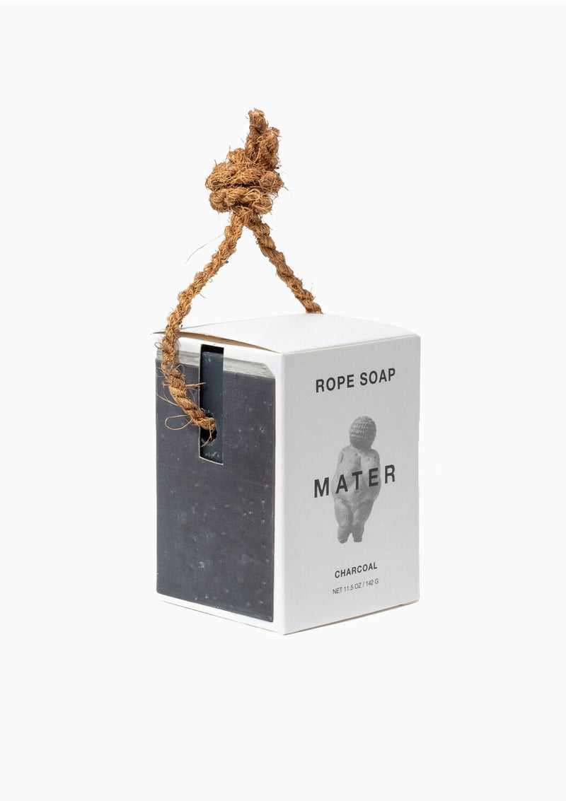Charcoal Rope Soap