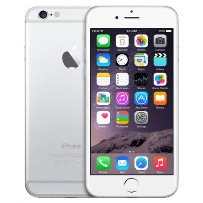 iPhone 6 64GB Silver Unlocked MG4H2LL/A (B)