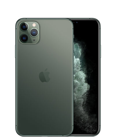 iPhone 11 Pro Max 64GB Midnight Green Unlocked MWH22LL/A (B)