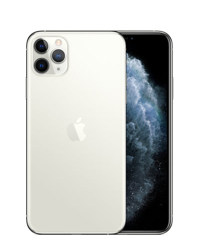 iPhone 11 Pro Max 64GB Silver Unlocked MWH02LL/A (A)