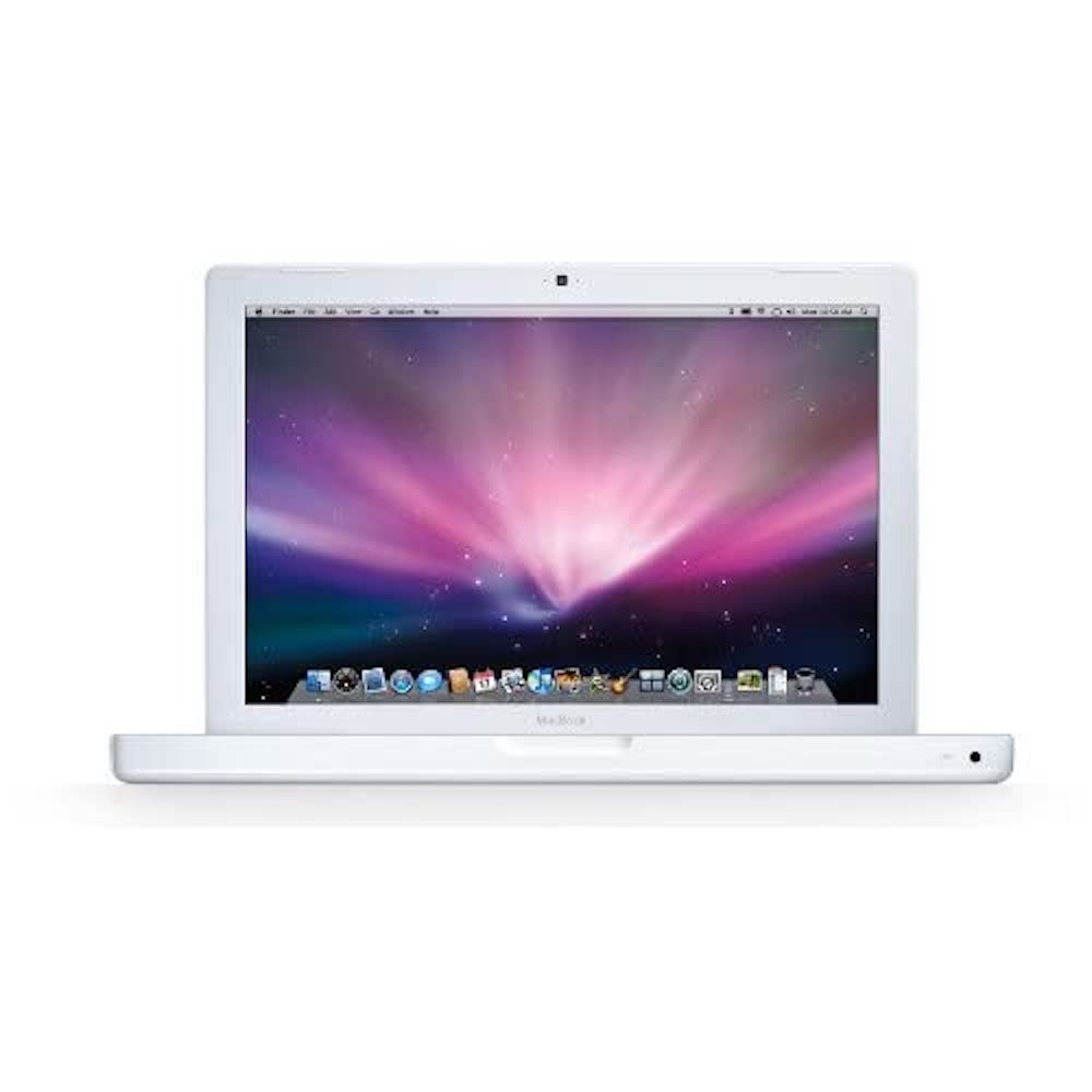 MacBook 13 inch 2.4GHz Intel Core 2 Duo 160GB White Early 2008 & Late 2008 MB403LL/A (B)