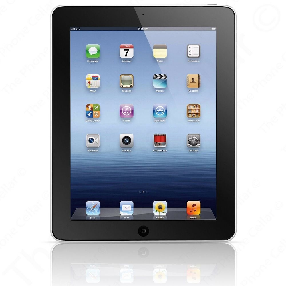 iPad 1st Generation 32GB Black Wi-Fi MB293LL/A (B)