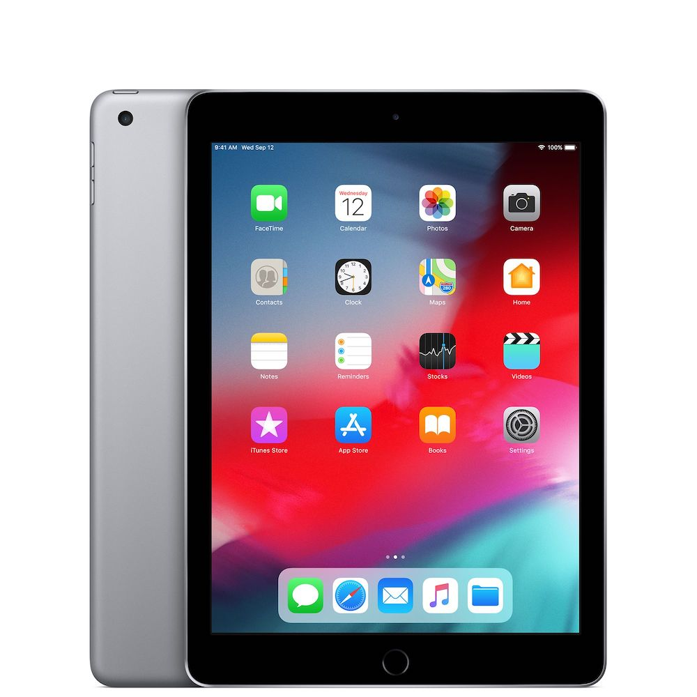 iPad 9.7 inch 5th Gen 128GB Space Gray Wifi MP2H2LL/A (B)