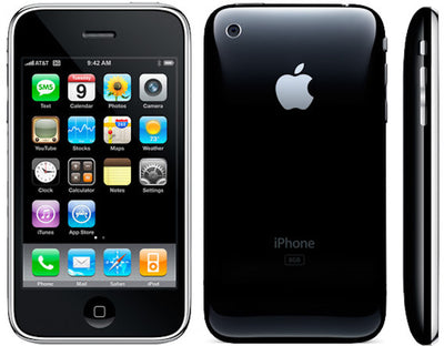 iPhone 3GS 8GB Black ATT MC555LL/A (B)