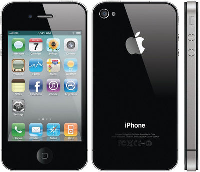 iPhone 4 32GB Black Unlocked MC605LL/A (B)