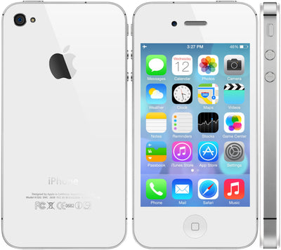 iPhone 4S 32GB White Unlocked MD244LL/A (B)