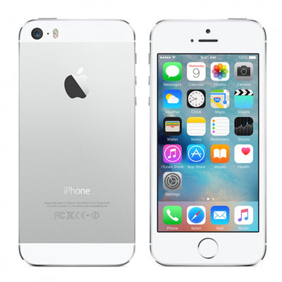 iPhone 5 16GB Silver Unlocked MD294LL/A (B)