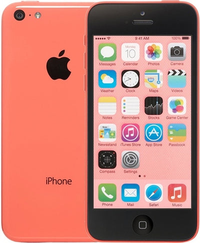 iPhone 5C 32GB Pink Unlocked(Included T-Mobile Sim Card) MF148LL/A (B)