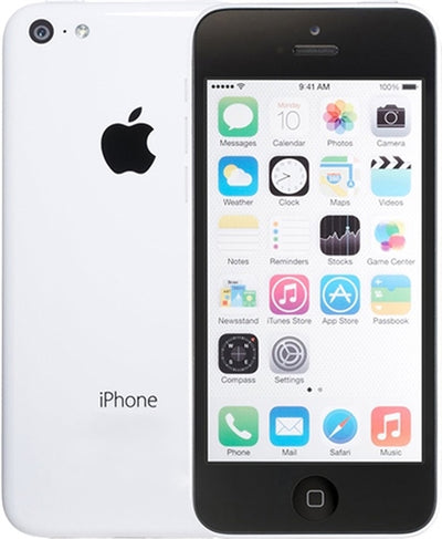 iPhone 5C 32GB White Unlocked(Included T-Mobile Sim Card) MF144LL/A (A)