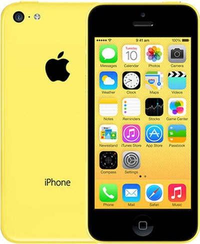 iPhone 5C 16GB Yellow Unlocked(Included T-Mobile Sim Card) ME530LL/A (B)