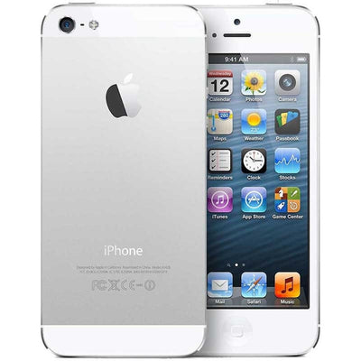 iPhone 5s 32GB Silver CDMA Verizon ME345LL/A (C)