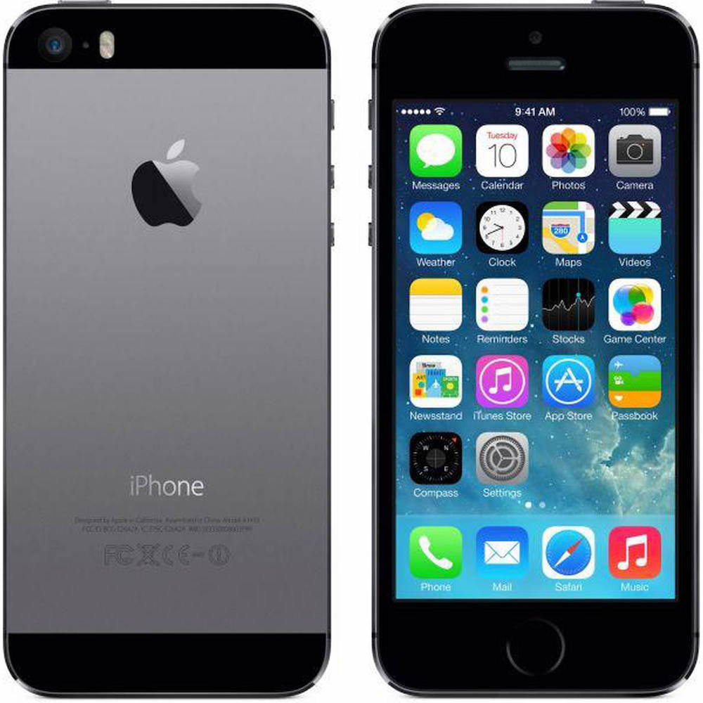 iPhone 5s 32GB Space Gray ATT ME308LL/A (B)