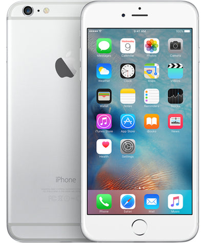 iPhone 6+ 16GB Silver Unlocked MGA92LL/A (B)