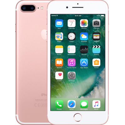 iPhone 7+ 32GB Rose Gold Unlocked MNQL2LL/A (B)
