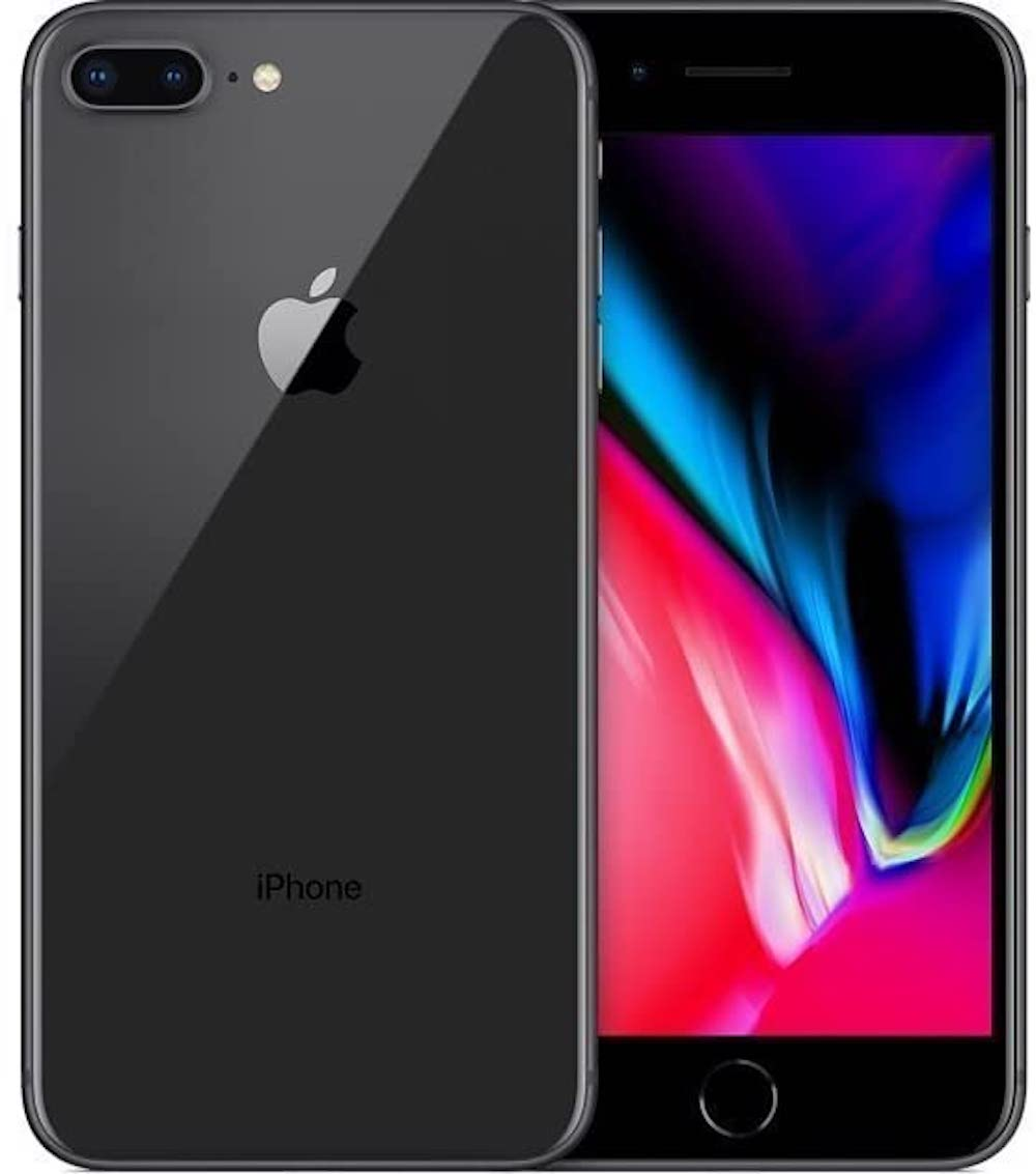 iPhone 8+ 64GB Space Gray T-Mobile/GSM MQ902LL/A (B)