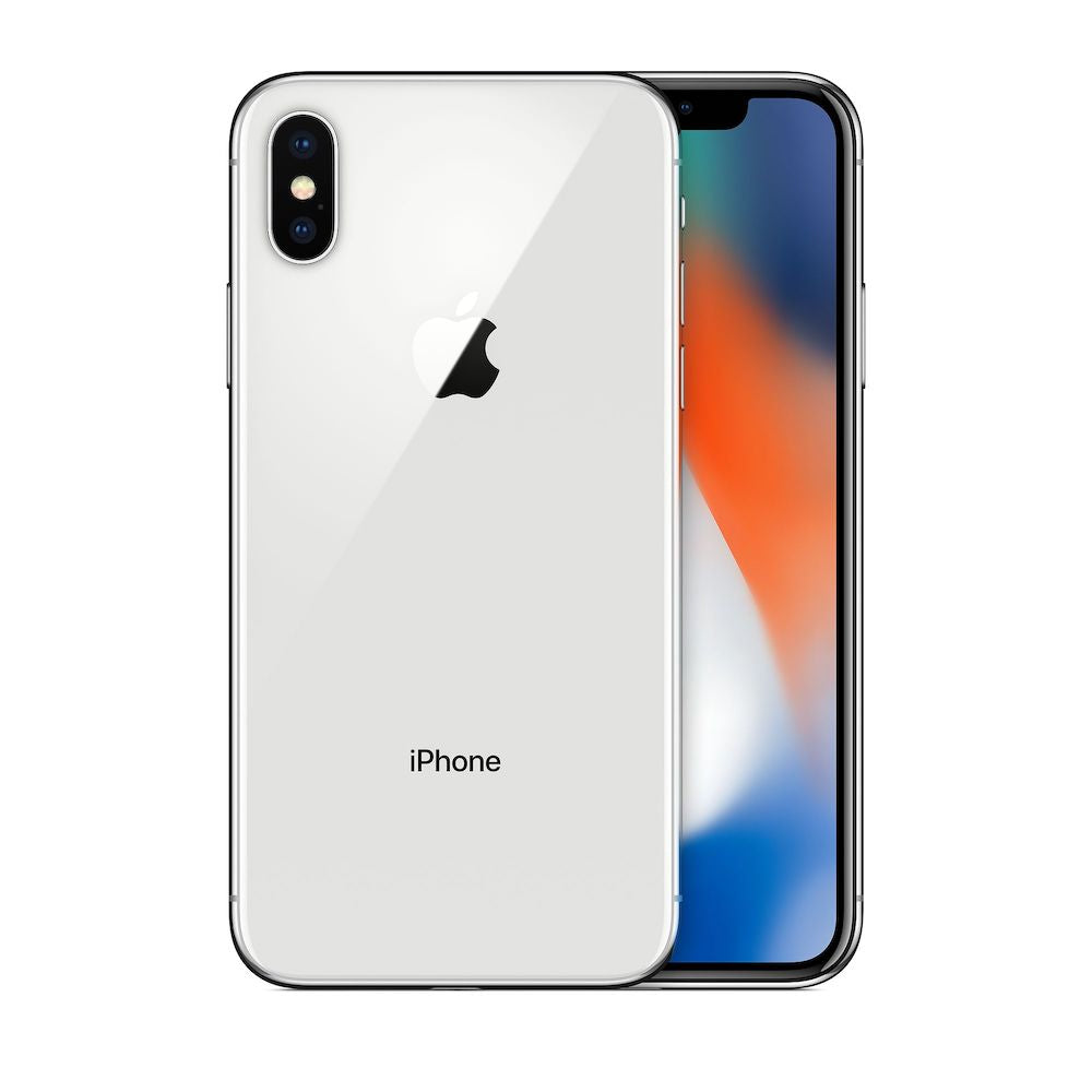 iPhone X 64GB Silver Unlocked MQA62LL/A (B)