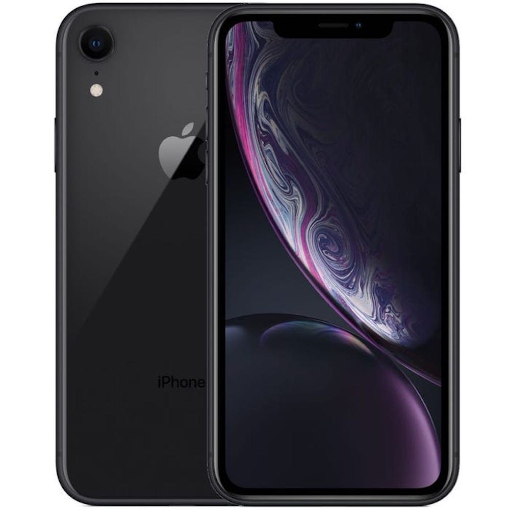 iPhone XR 64GB Black Unlocked MRYR2LL/A (B)