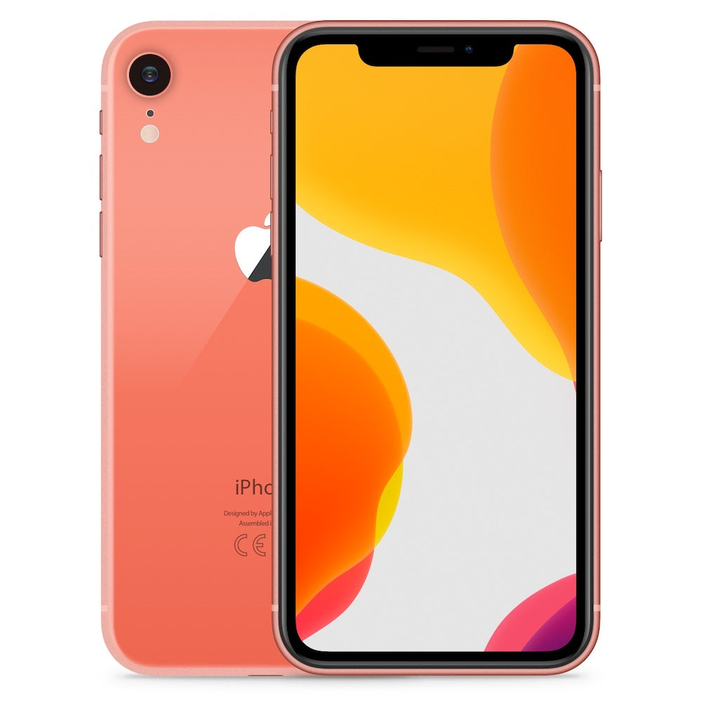 iPhone XR 64GB Coral Unlocked MRYW2LL/A (B)