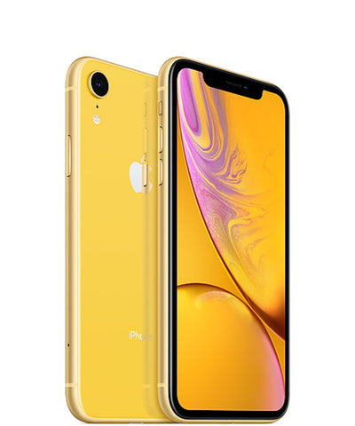 iPhone XR 128GB Yellow Unlocked MT042LL/A (B)