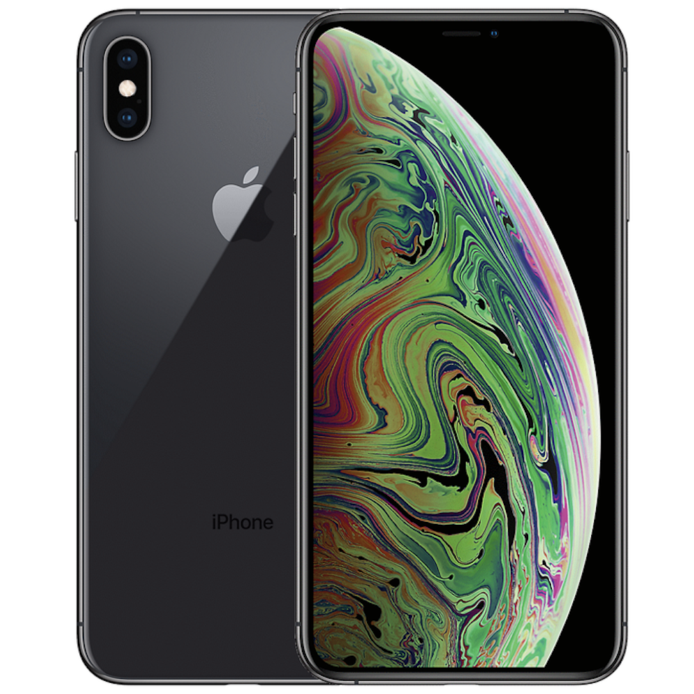 iPhone Xs Max 256GB Space Gray Unlocked MT5D2LL/A (B)