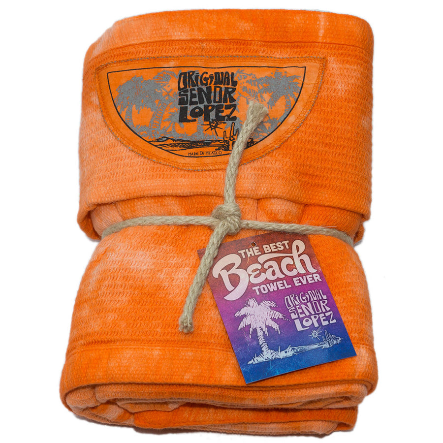 BEACH TOWEL - MANDARIN
