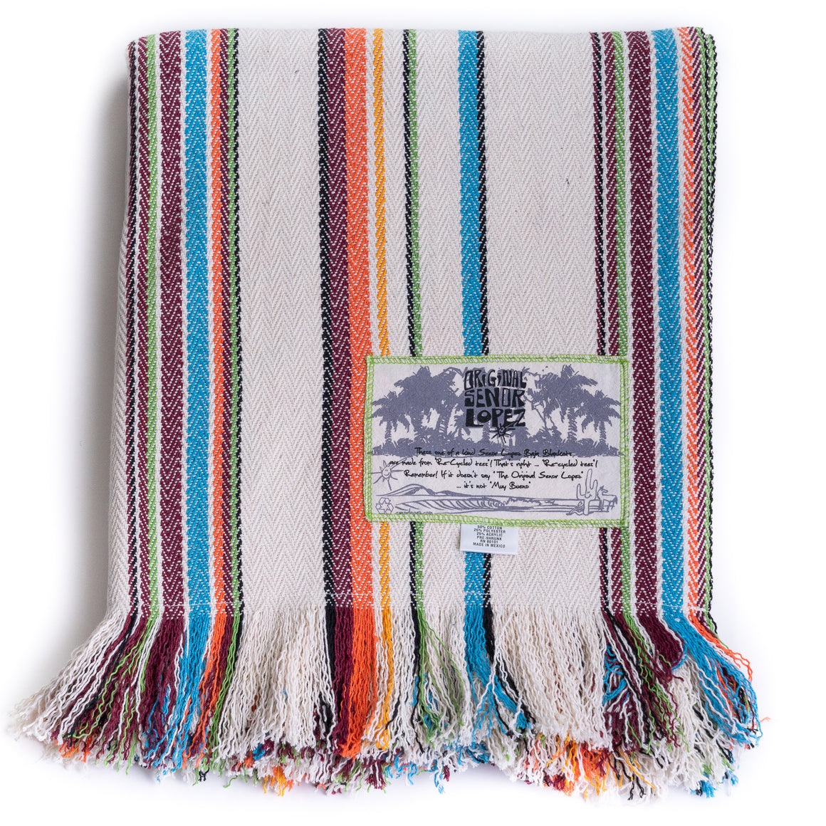 CALIFORNIA OLAS BLANKET