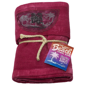 BEACH TOWEL - WINE