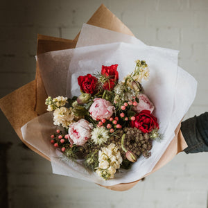 Peony Bouquet -  Pay Upfront Subscription PREORDER