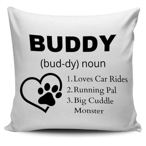 Define Your Pet Personalized Pillow Cover