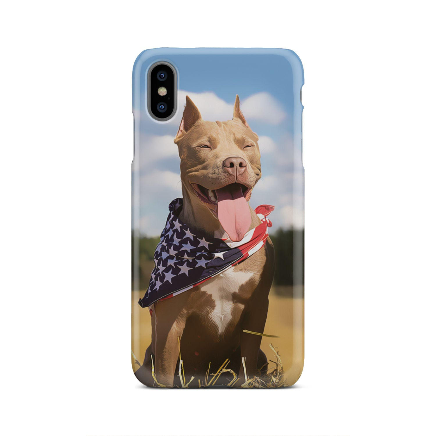 Custom PitBull Phone Case