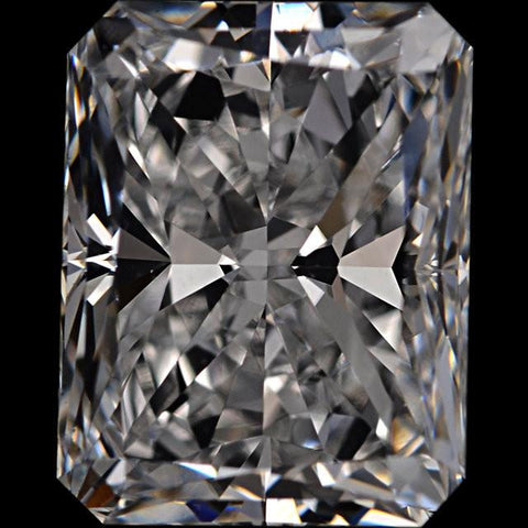Radiant Cut Cubic Zirconia Loose Stones 5A Quality
