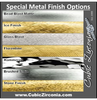 Special Metal Finishes for Wedding Bands and Rings