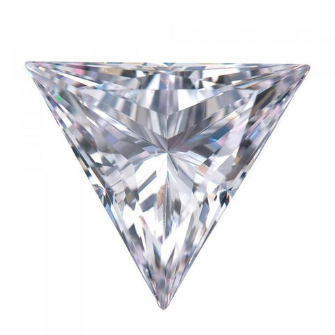 Triangle Cut Cubic Zirconia Loose Stones 5A Quality