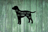 Be The Person Your Dog Thinks You Are Vinyl Decal