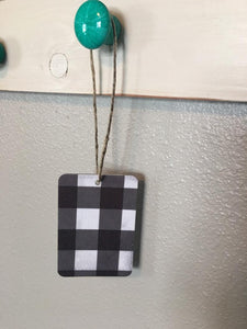 Buffalo Plaid Air Freshener - You Pick Scent