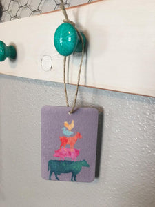 Farm Animal Stack Air Freshener - You Pick Scent